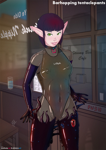 Barhopping-tentaclepants_transp-undersuit-dark-swimsuit-purple-hair-tentacles