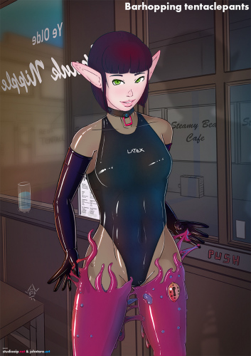 Barhopping-tentaclepants_transp-undersuit-normal-swuimsuit-purple-hair-tentacles