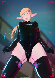 From-below-tentacle-bunnygirl-_0003_Latex-suit-with-vibes