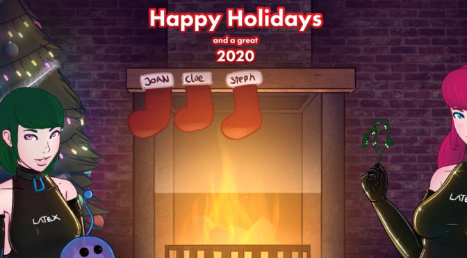 Happy Holidays and have a great 2020!