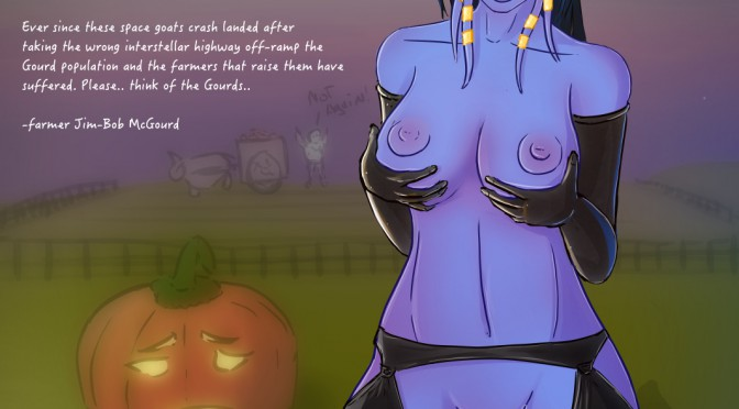 Gourd Abuse: The Draenei story